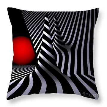 Opart Versiera Throw Pillow