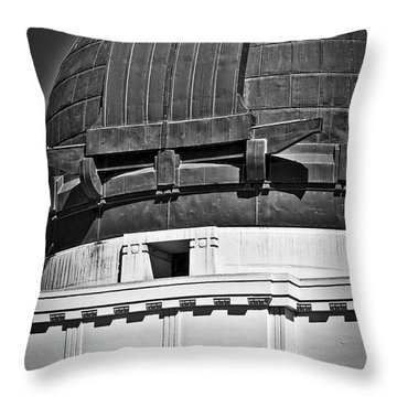 Throw Pillow featuring the photograph Open For The Telescope by Kirt Tisdale