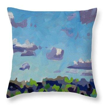 Open Gallery Cu Fractus Throw Pillow