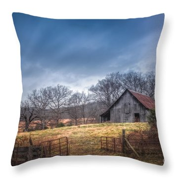 Open Gate Throw Pillow