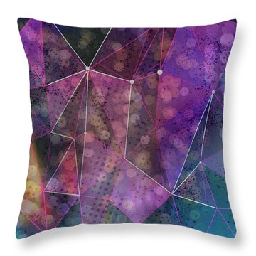 Open Geometric Throw Pillow
