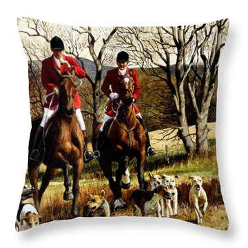 Open Ground Detail Throw Pillow