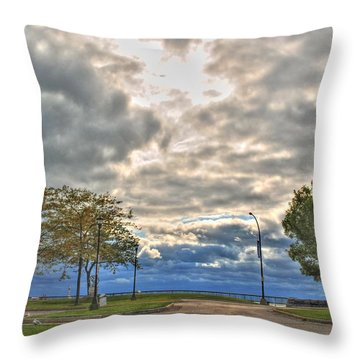 Open Heavens  Throw Pillow
