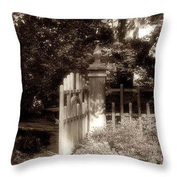 Open Invitation Throw Pillow
