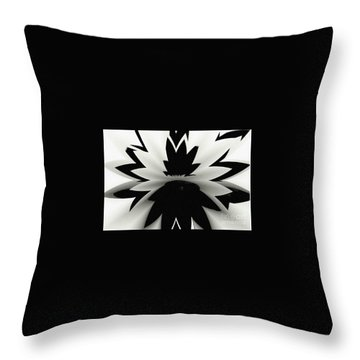 Open Minded Throw Pillow