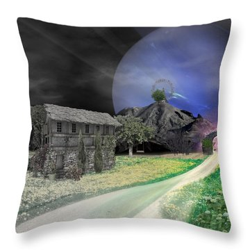 Open Portal Throw Pillow