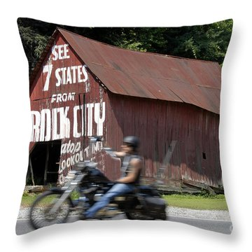 Open Road Throw Pillow by David Lee Thompson