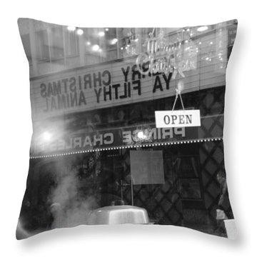 Open Screening Throw Pillow