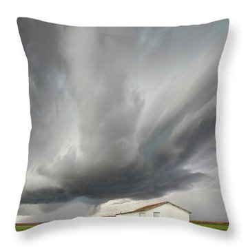 Open Spaces Throw Pillow