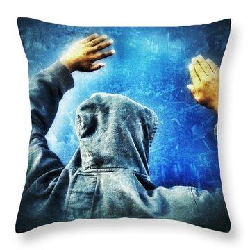 Open The Sky Throw Pillow
