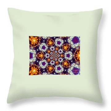 Open To Joy Throw Pillow