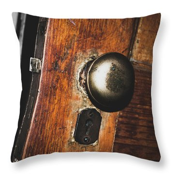 Open To The Past Throw Pillow