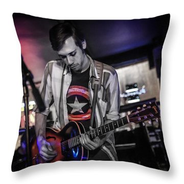 Open Tuning  Throw Pillow