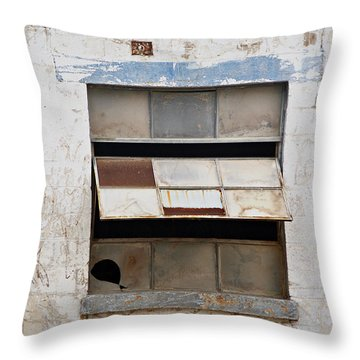 Opened Window Throw Pillow by Sandra Church