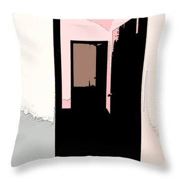 Opening Doors To The Future 1 Throw Pillow by Lenore Senior