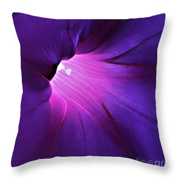 Opening One's Heart Throw Pillow