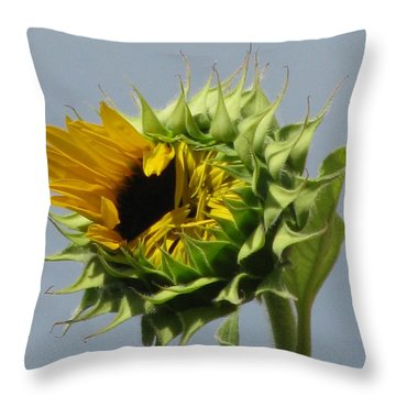 Opening Soon Throw Pillow