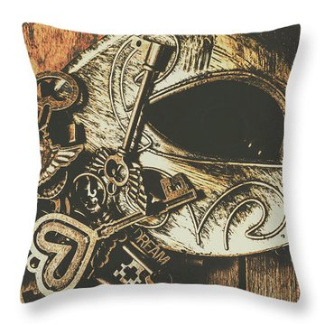 Opening Stage Show Throw Pillow