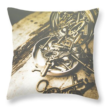 Openings Throw Pillow