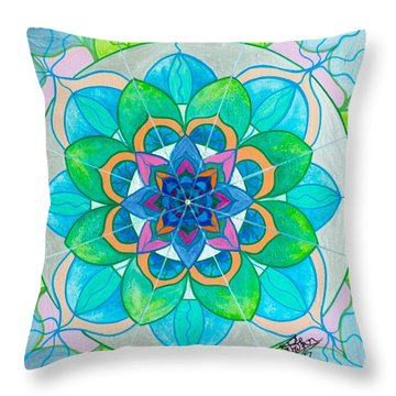 Openness Throw Pillow