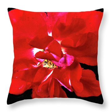 Openredrose Throw Pillow