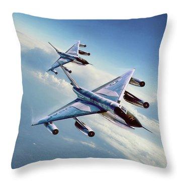 Operation Heat Rise Throw Pillow