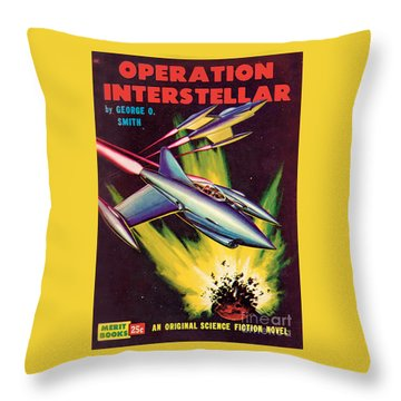 Operation Interstellar Throw Pillow