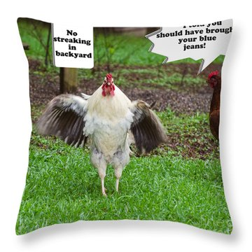 OPH Throw Pillow by Donna Brown