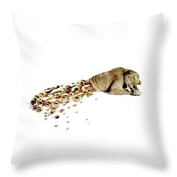 Ophelia Throw Pillow by Afke Golsteijn