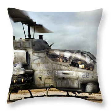 Ophidiophobia Throw Pillow