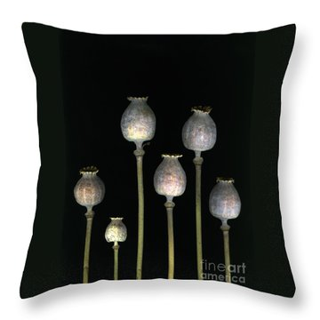 Opiates Throw Pillow