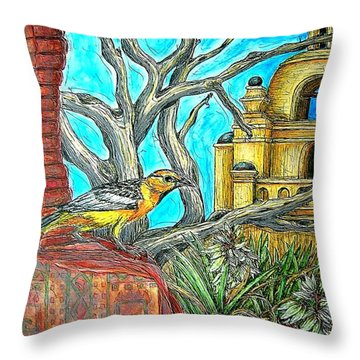 Opposing Points Of View Throw Pillow
