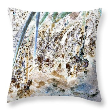 J-lintz - Mangrove Shoreline Throw Pillow