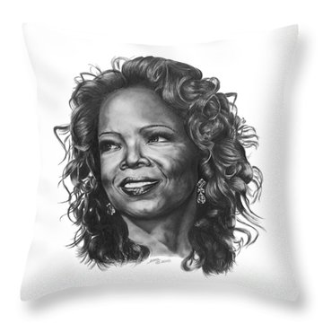 Oprah Throw Pillow
