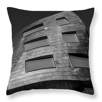 Optical Conculsion Throw Pillow