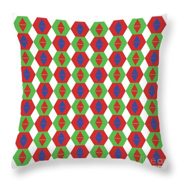 Optical Illusion No 3. Throw Pillow