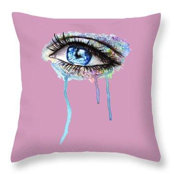 Optics  Throw Pillow by Herb Strobino