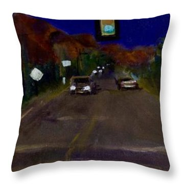 Orange Grove And La Canada Throw Pillow