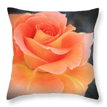 Orange Sherbert Throw Pillow by Marna Edwards Flavell