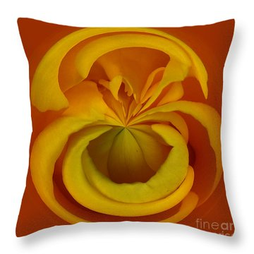 Orb 1 Throw Pillow by Elena Nosyreva