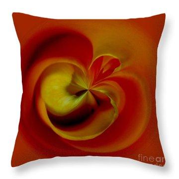 Orb 2 Throw Pillow by Elena Nosyreva