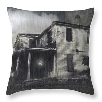 Orb Throw Pillow by Brian Wallace