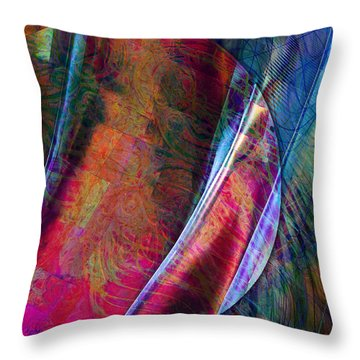 Orbit II Throw Pillow