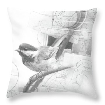 Orbit No. 2 Throw Pillow