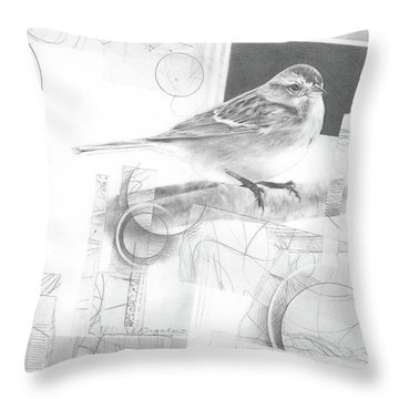 Orbit No. 1 Throw Pillow