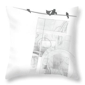 Orbit No. 3 Throw Pillow