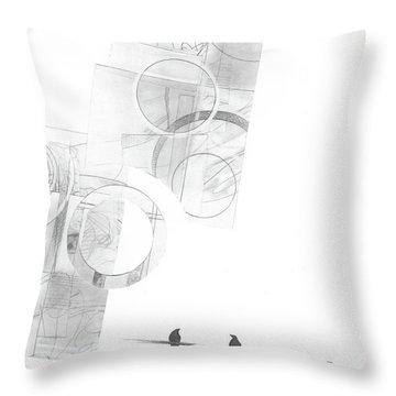Orbit No. 4 Throw Pillow