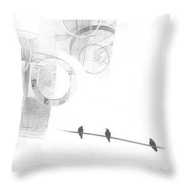 Orbit No. 4 Throw Pillow