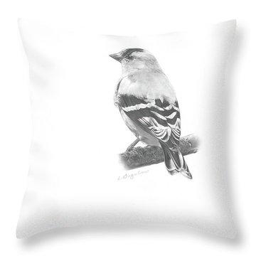 Orbit No. 5 Throw Pillow