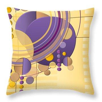 Orbital Throw Pillow